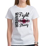 Fight Strong Myeloma Warrior Women's T-Shirt