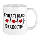 My Heart Beats For A Doctor Small Mug