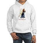 Christmas Angel Hooded Sweatshirt
