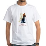 Christmas Angel White T-Shirt