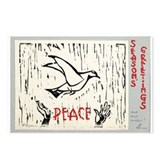 Dove Woodblock By: Lena Gurr Postcards (Package of