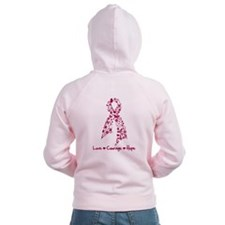 Love Courage Myeloma Zip Hoodie