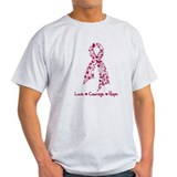 Love Courage Myeloma T-Shirt