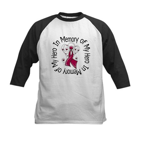 Myeloma In Memory Hero Kids Baseball Jersey