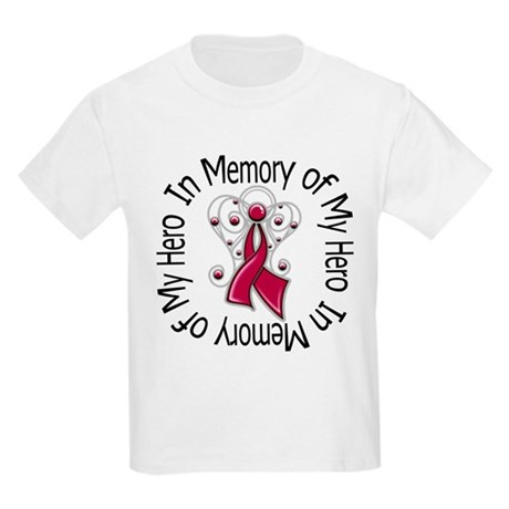 Myeloma In Memory Hero Kids Light T-Shirt