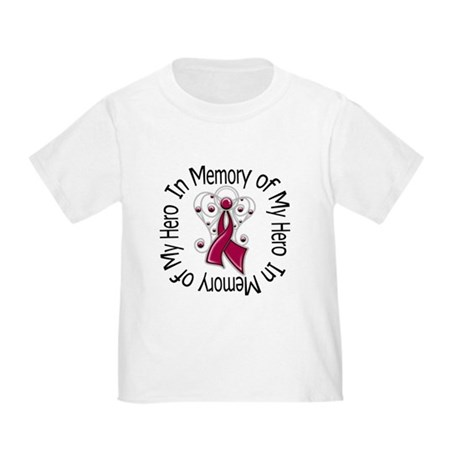 Myeloma In Memory Hero Toddler T-Shirt