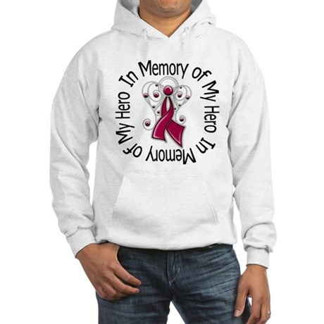 Myeloma In Memory Hero Hooded Sweatshirt