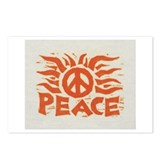 Orange Peace By: Werner Drewes Postcards (Package