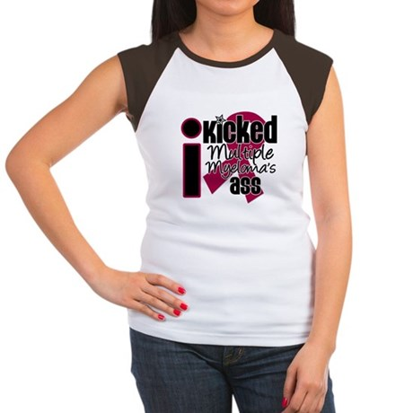 I Kicked Myeloma's Ass Women's Cap Sleeve T-Shirt