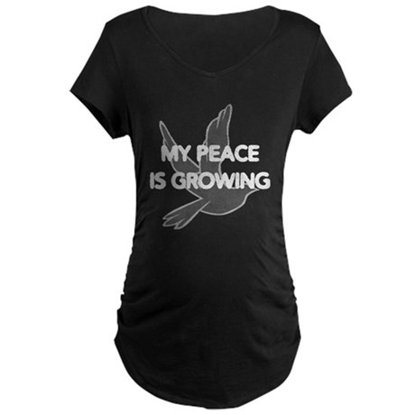 My Peace Is Growing Maternity T-Shirt