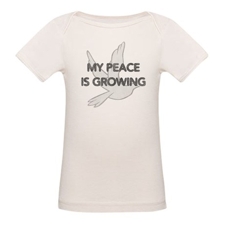 My Peace Is Growing Organic Baby T-Shirt