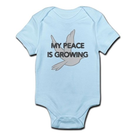 My Peace Is Growing Infant Bodysuit