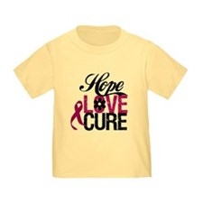 Hope Love Cure Myeloma T