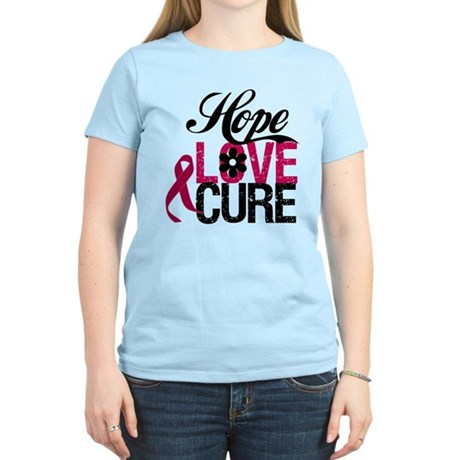 Hope Love Cure Myeloma Women's Light T-Shirt