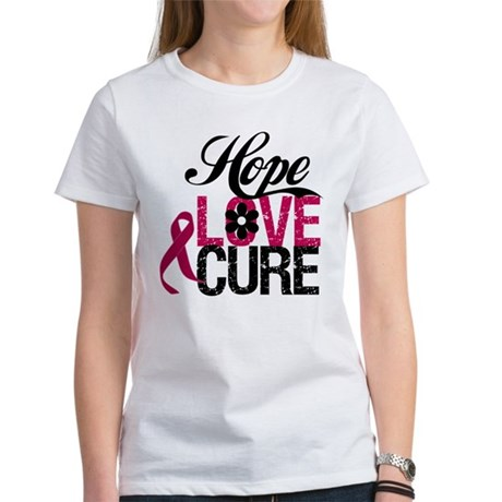 Hope Love Cure Myeloma Women's T-Shirt