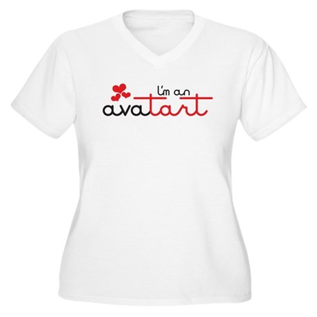 I'm an avatart Women's Plus Size V-Neck T-Shirt