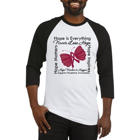 Hope is Everything Myeloma Baseball Jersey