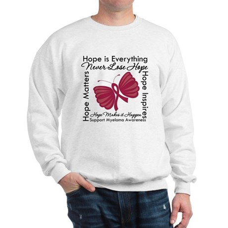 Hope is Everything Myeloma Sweatshirt