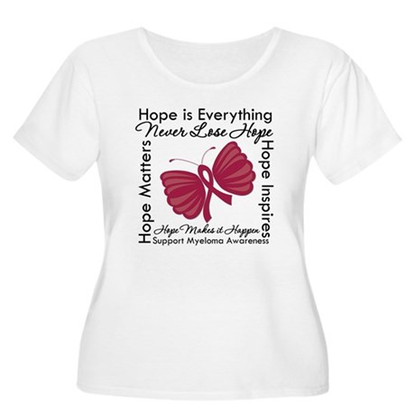 Hope is Everything Myeloma Women's Plus Size Scoop