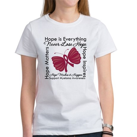 Hope is Everything Myeloma Women's T-Shirt