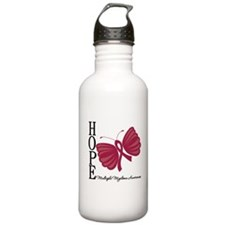 Hope Butterfly - Myeloma Water Bottle