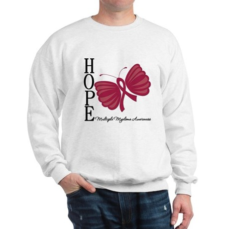 Hope Butterfly - Myeloma Sweatshirt