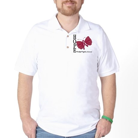 Hope Butterfly - Myeloma Golf Shirt