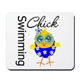 Swimming Chick Mousepad