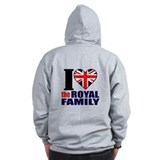 British Royal Family Zipped Hoody