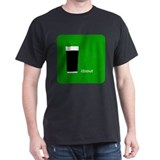 iStout Green Black T-Shirt