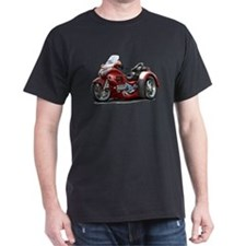 Goldwing Maroon Trike T-Shirt