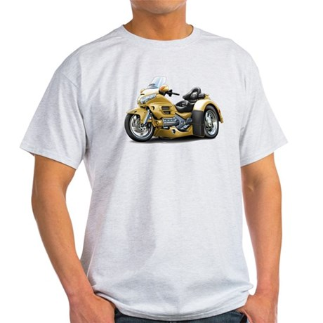 Goldwing Gold Trike Light T-Shirt