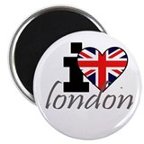 I Heart London 2.25&amp;quot; Magnet (10 pack)