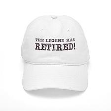 The Legend Has Retired Baseball Cap
