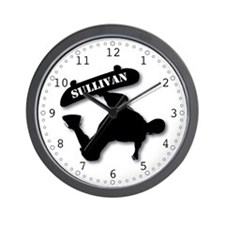 Sullivan - Skateboard Wall Clock