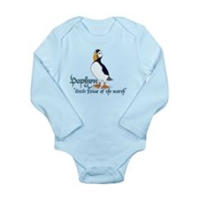 Puffin Long Sleeve Infant Bodysuit