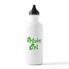 Irish Birthday Girl Water Bottle