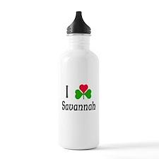 I Love Savannah Water Bottle