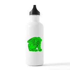 Green Griffin Water Bottle