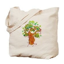 Peaceful Tree Tote Bag