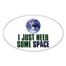 Astronaut Humor Decal