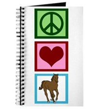 Peace Love Horses Journal