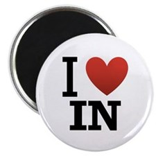 I Love Indiana Magnet