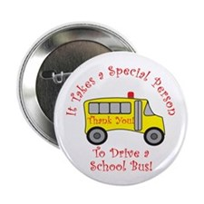 "School Bus Driver 2.25"" Button (10 pack)"