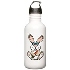 Funny Bunny Sports Water Bottle