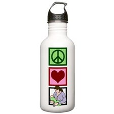 Peace Love Breastfeeding Water Bottle