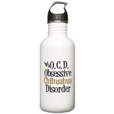 Obsessive Chihuahua Disorder Water Bottle