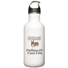Cute Corgi Sports Water Bottle