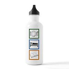 Eat Sleep Read Water Bottle