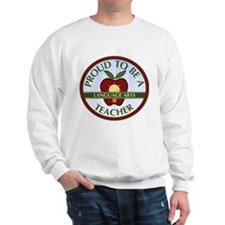 Language Arts Teacher Sweatshirt